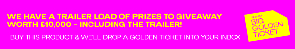 Golden Ticket - Shop to win hundreds of prizes