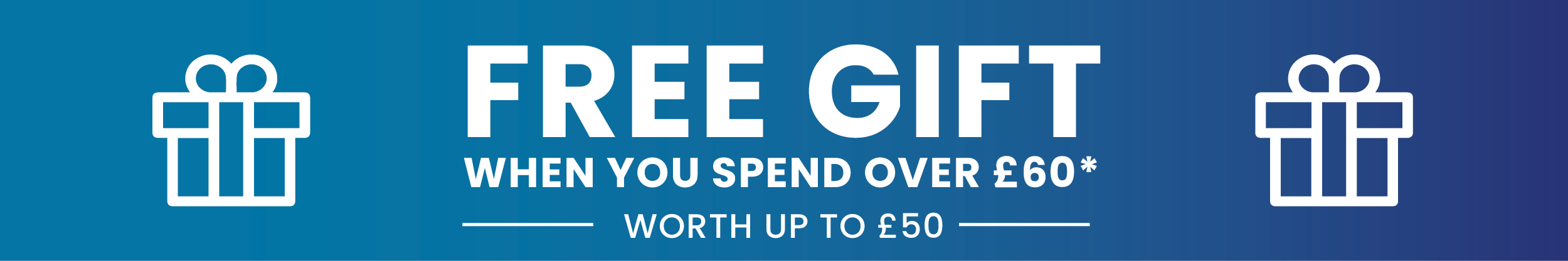 Free Gift - Orders over £60