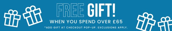Free Gift when you spend over £65