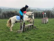 Alison Laura Phillips - Me and my pony, Blue, love the fact we are covered to go out hacking! And the discounts are pretty handy too, means I can spend more on him!