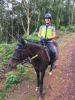 Collette Clark - Here's Tiera my little mare hacking around Exmoor. I love the fact that we are covered with being Gold members which is great peace of mind as we hack most of time. The added bonus is the 30% off all the fabulous products!