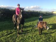 Hazel Taylor - This picture means a lot to me, it was taken just after our first mother & son hack out together. My son is only 3.5 years old and has just started riding. 