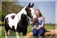 Rachel Turnbull - Me and my fabulous mare are One Club members. She is the most bombproof horse when I'm out on the roads but having the One Club cover gives me peace of mind.