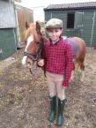 Suzi Friend - I love the Harry Hall One Club because i'v had some lovely savings on great clothing. This is my son, Deven, and his pony, Aeron.