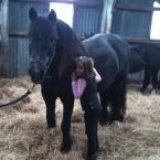 Yvonne Coburn - Love the deals on here, got a few bargains for my horse mad granddaughter. Here she is with our Fell pony, who is a total star...Keep up the good work, wish I had this years ago!
