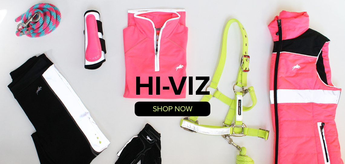 Hi-Viz Horse Riding Safety Wear