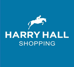 Harry Hall Hale Junior Wellington Boots Blue