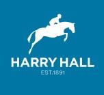 Harry Hall Womens Checked Breeches Navy Blue