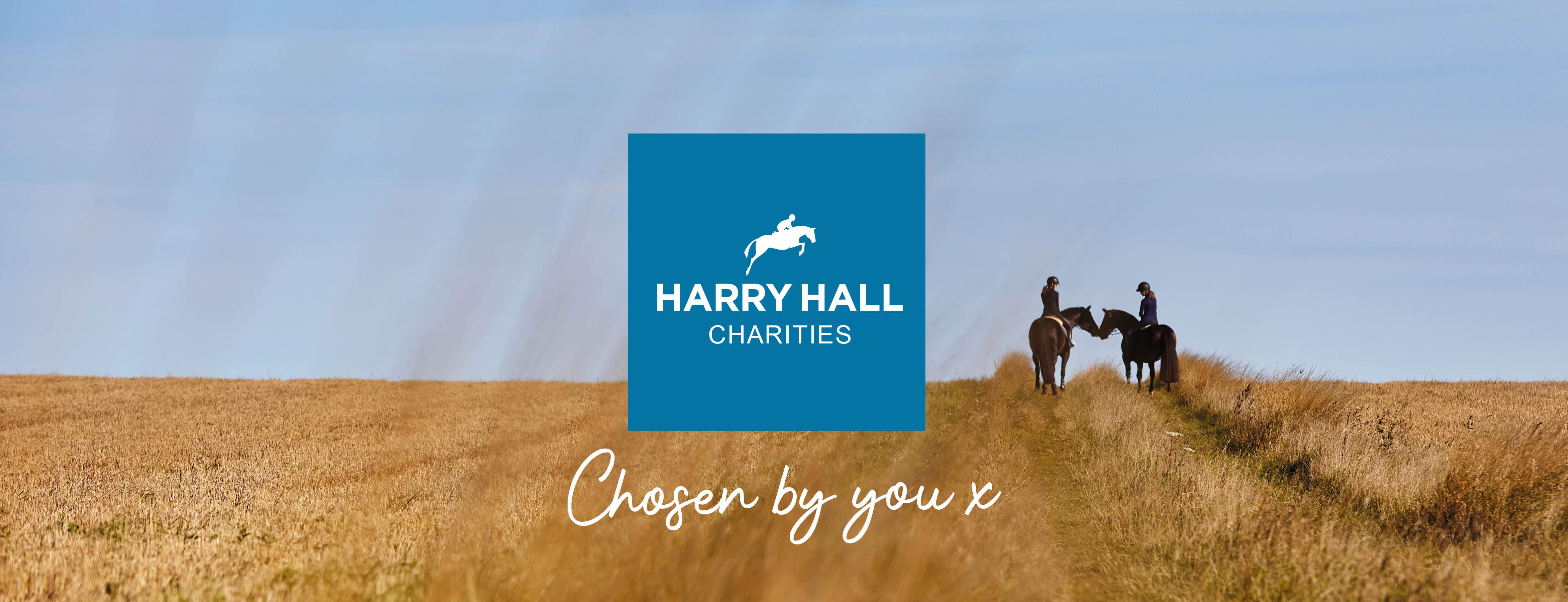Harry Hall charity partner