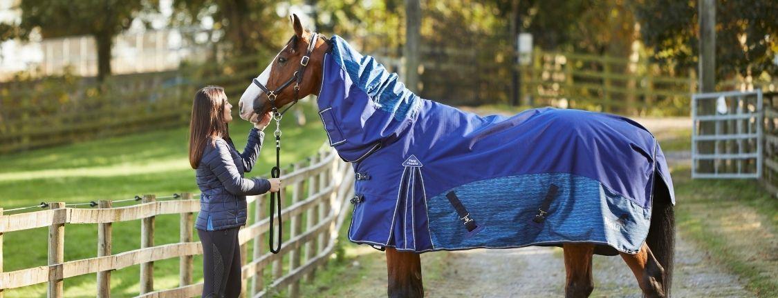 Prevent mane loss in horses