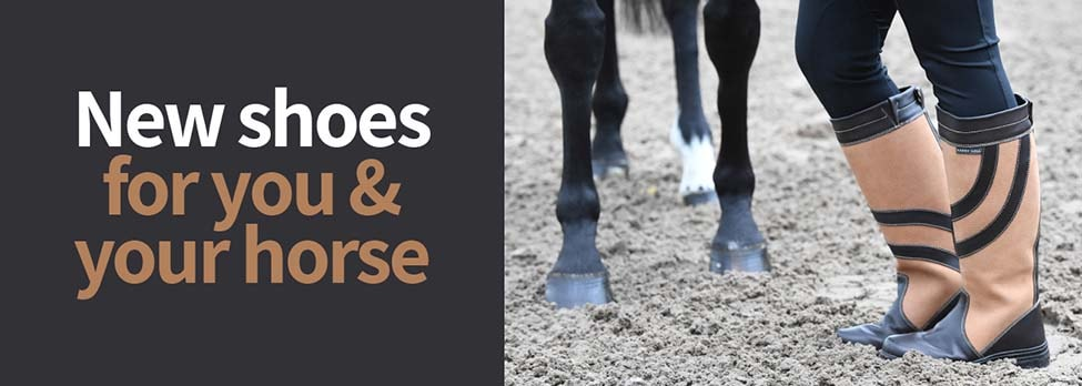 New Shoes For You & Your Horse