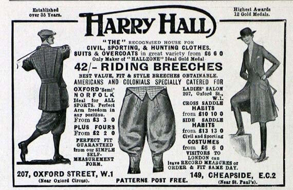Harry Hall Victorian Equestrian Tailor