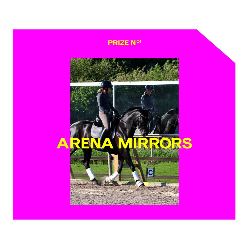 Win Equestrian Arena Mirrors with Harry Hall