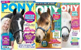 Pony Magazine - Just £3 an Issue