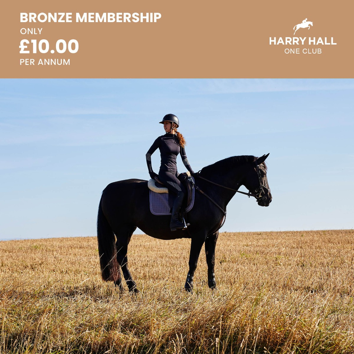 Harry Hall One Club Bronze Membership