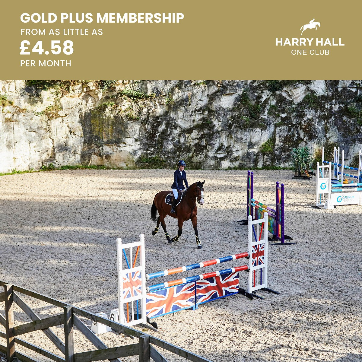 Harry Hall One Club Gold Plus Event Membership