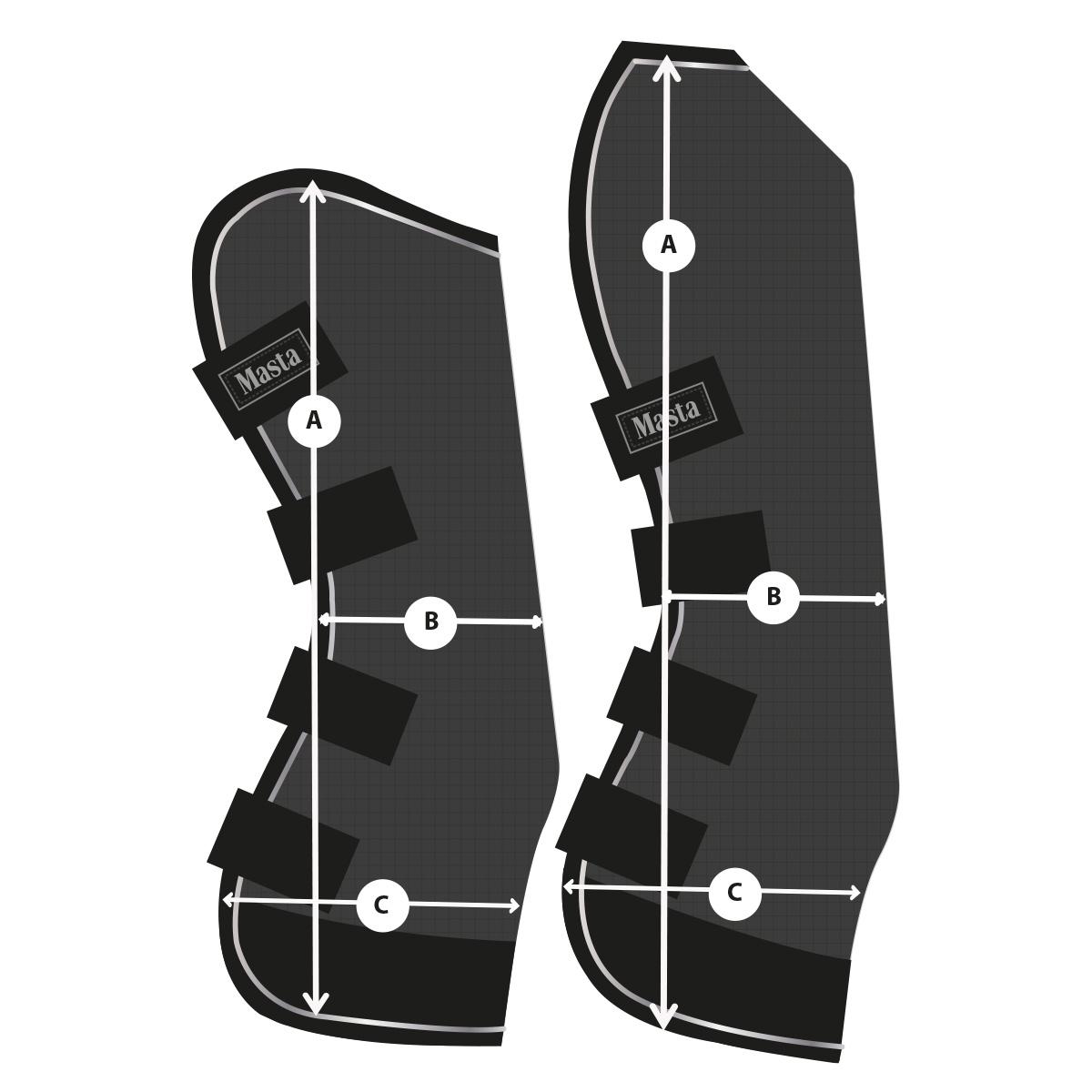 Masta Avante Travel Boots | Size Guide