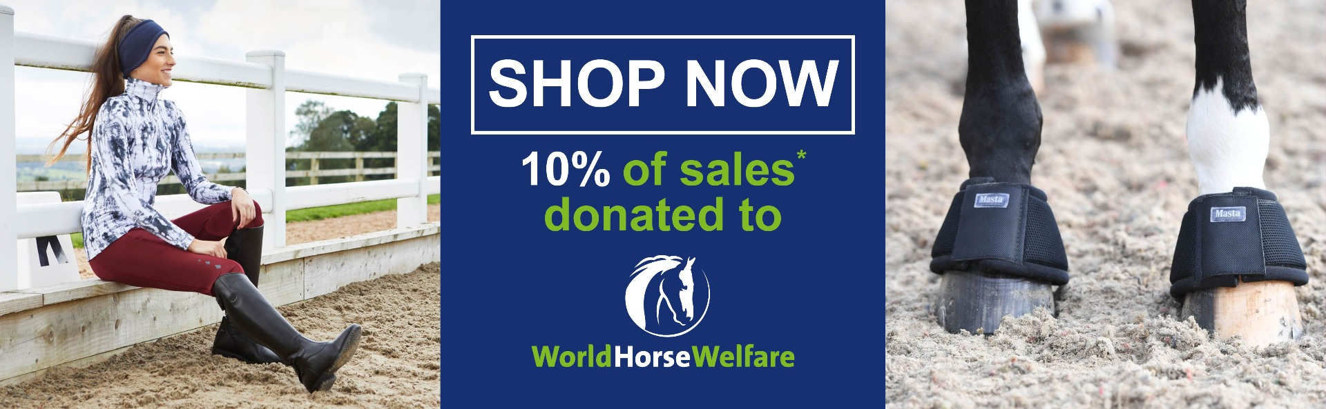 World Horse Welfare Charity Partner | Harry Hall