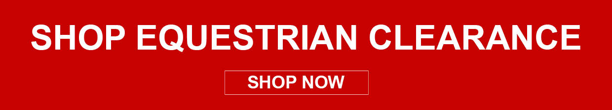 Shop Equestrian Clearance