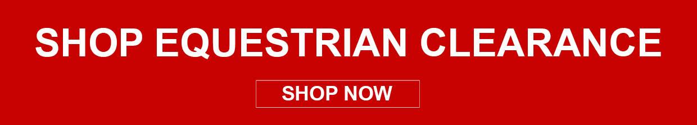 Shop Equestrian Clearance