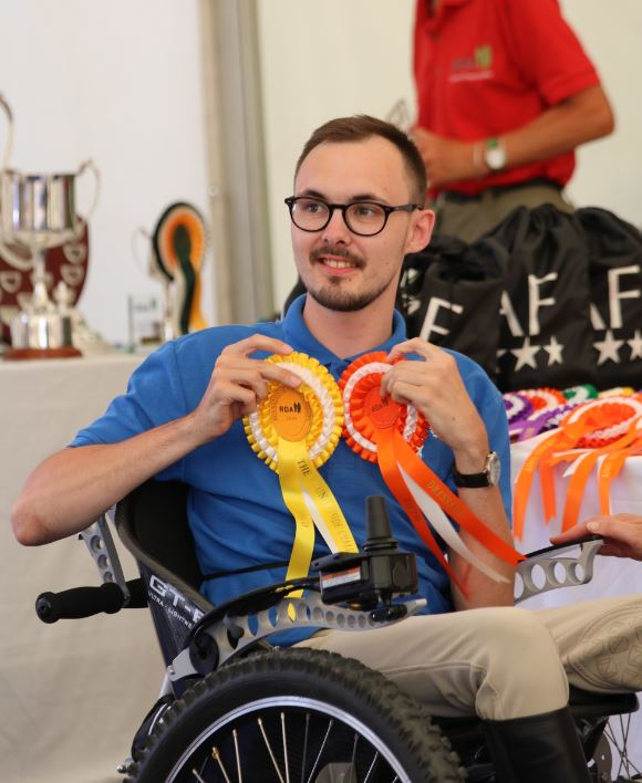 RDA rider Darren