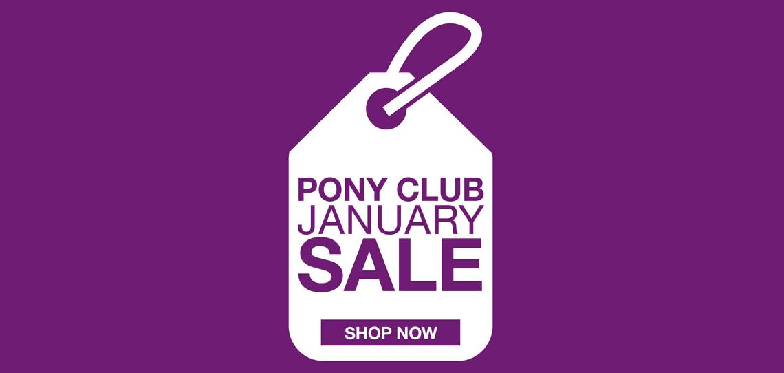 Pony Club January Sale | Harry Hall