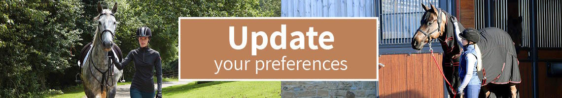 Update your Preferences | Harry Hall