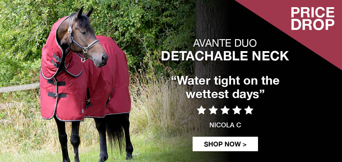 Avante Duo Detachable Neck | Harry Hall