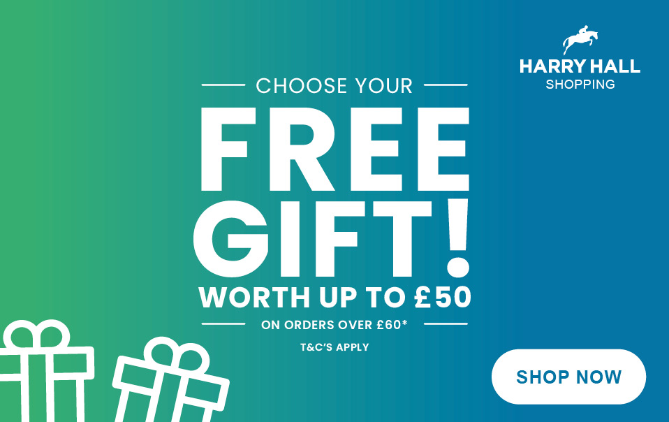 Choose your FREE Gift   Harry Hall