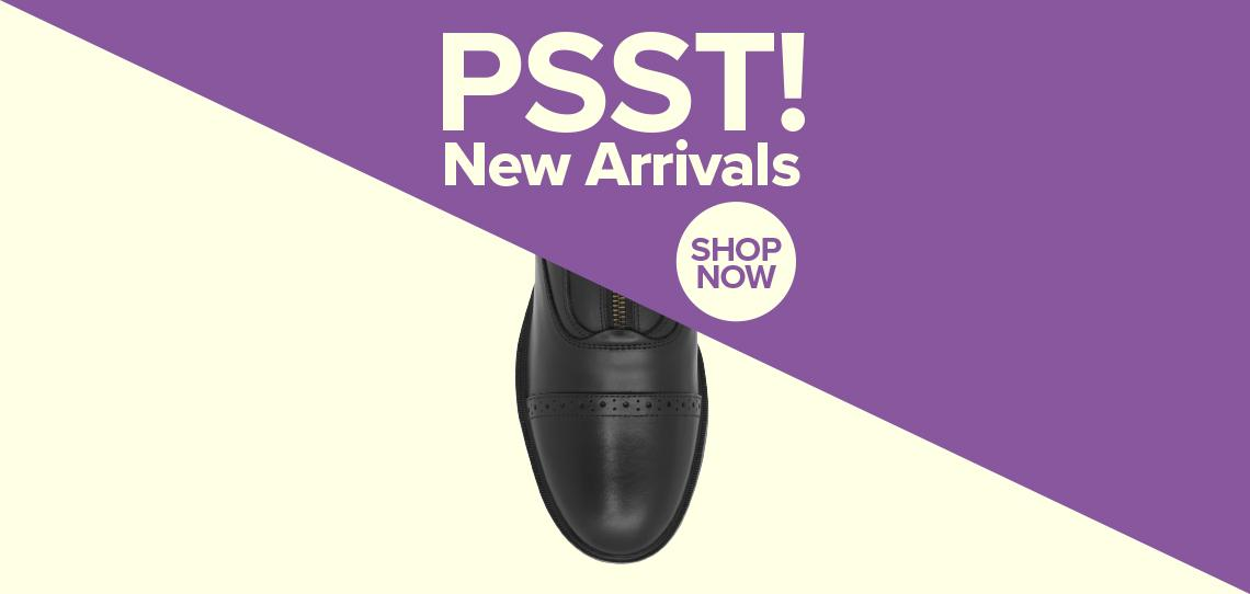 New In - Latest Footwear   Harry Hall