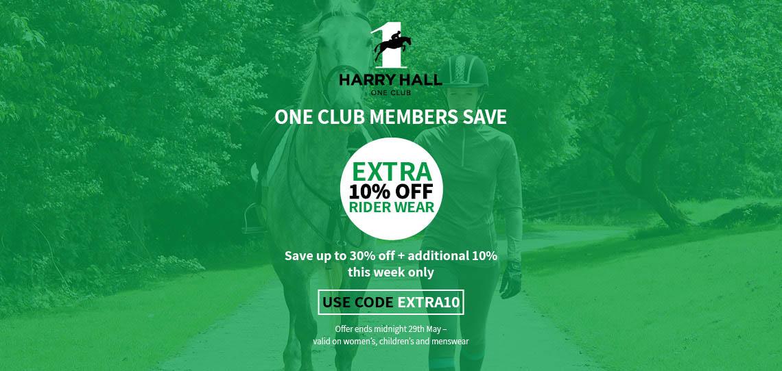 10% off Rider Wear   Harry Hall