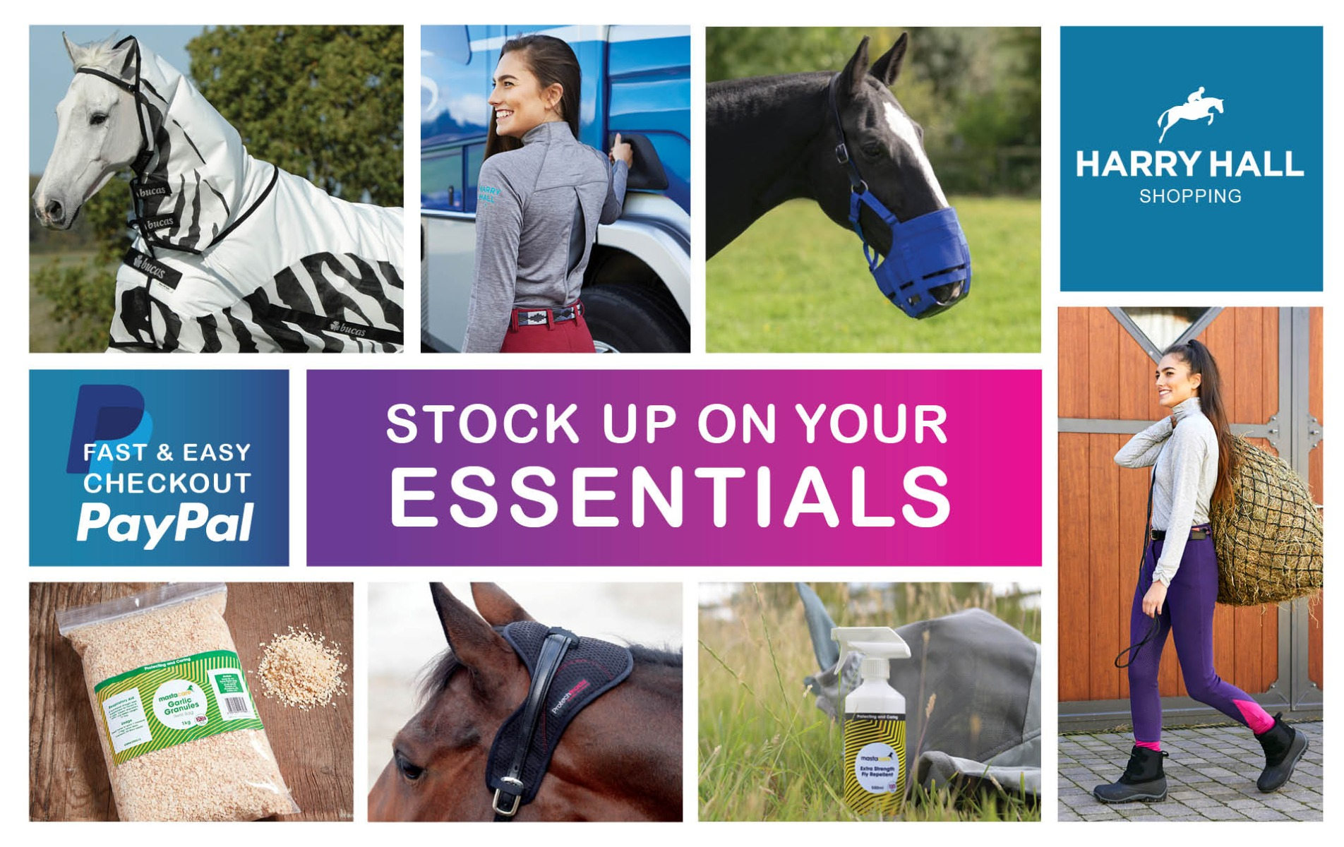 Stock up on Essentials | Harry Hall