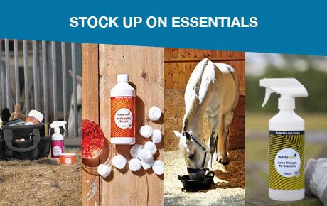 Stock up on Essentials   Harry Hall