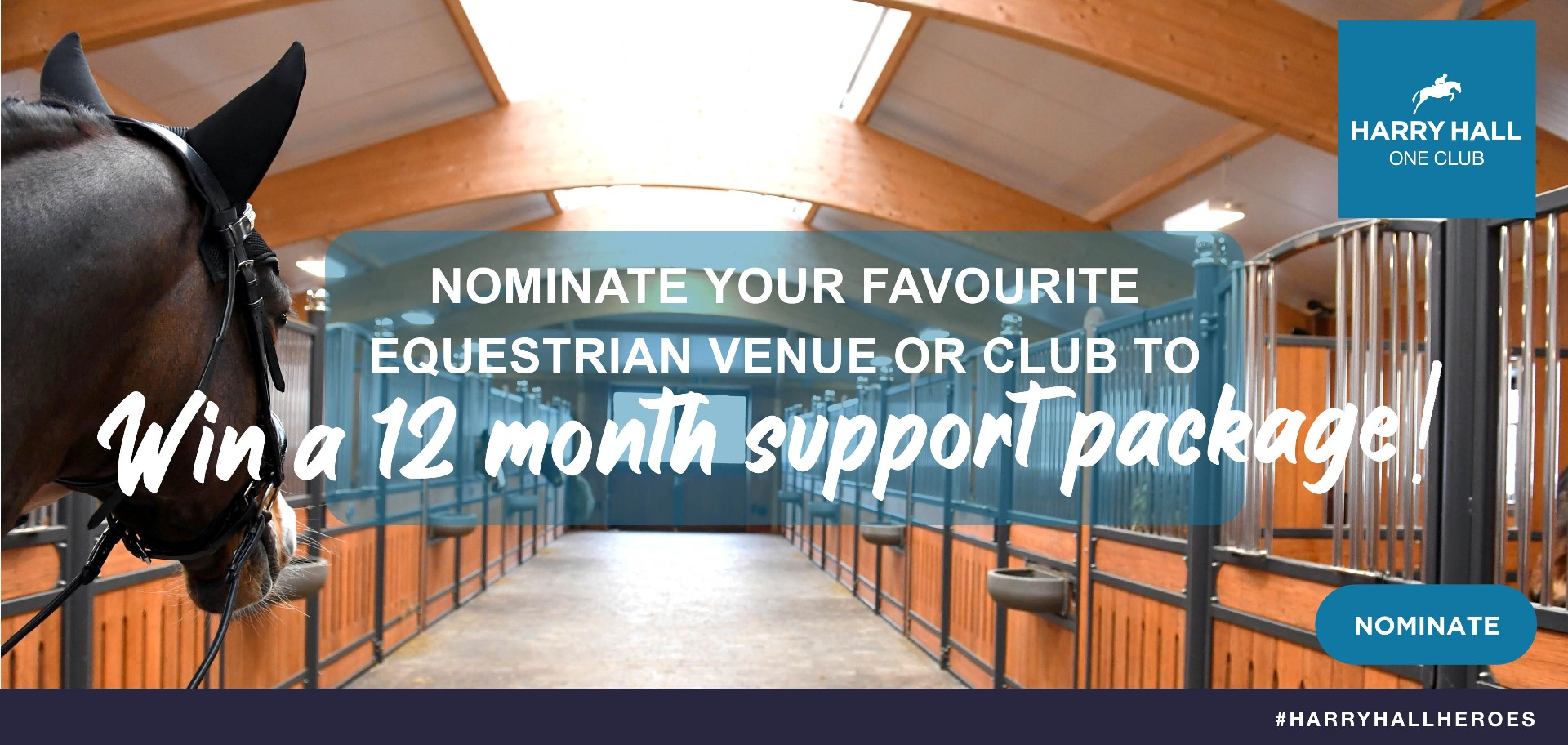 Nominate your favourite equestrian venue | Harry Hall