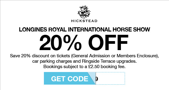 Hickstead | Members Save More at Harry Hall