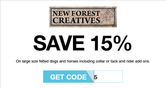 New forest creatives | Members Save More at Harry Hall