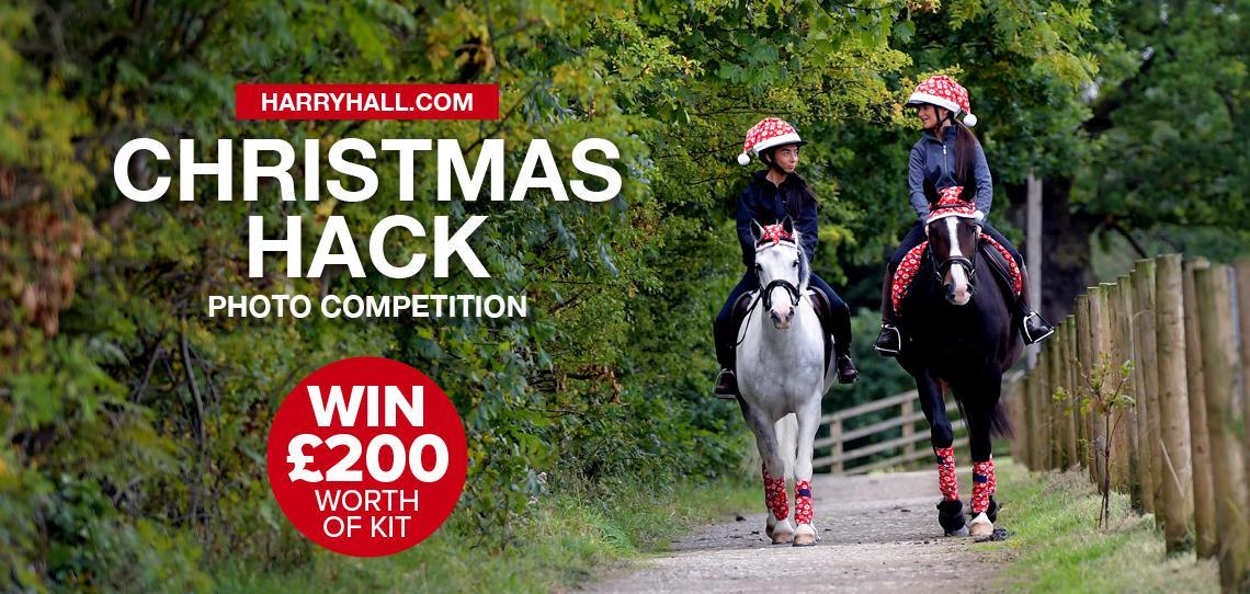 Harry Hall Christmas Hack | Win £200 Worth of Kit