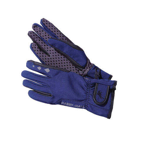 Softshell Riding Glove in Navy Blue