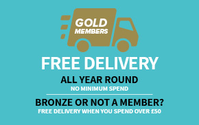 FREE delivery for Gold One Club Members | Harry Hall