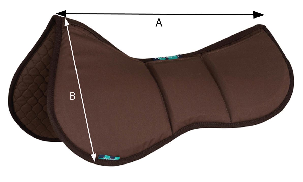NuuMed Half Shimmy Pad | Size Guide