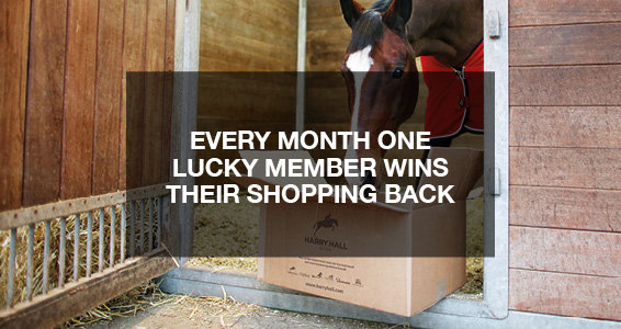 Win your Shopping Back | Members Save More at Harry Hall