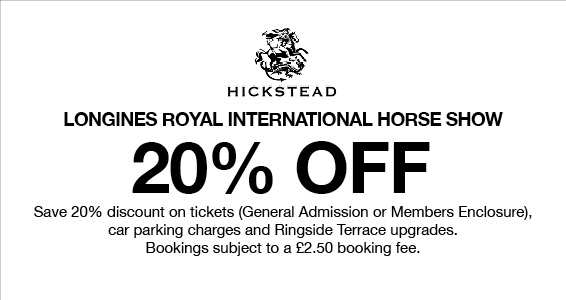 Hickstead   Members Save More at Harry Hall