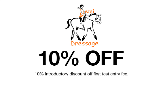 Demi Dressage   Members Save More at Harry Hall