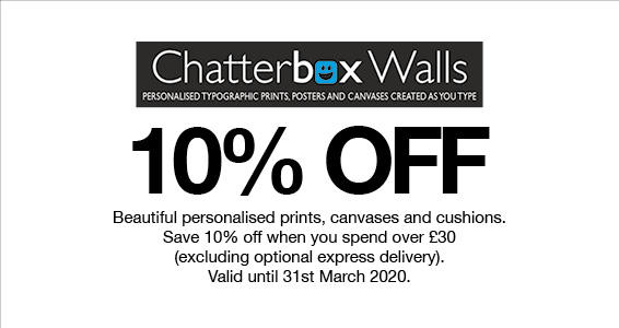 Chatterbox Walls   Members Save More at Harry Hall