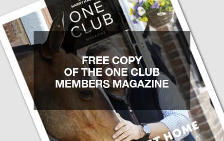 Harry Hall One Club Member Benefits | Harry Hall