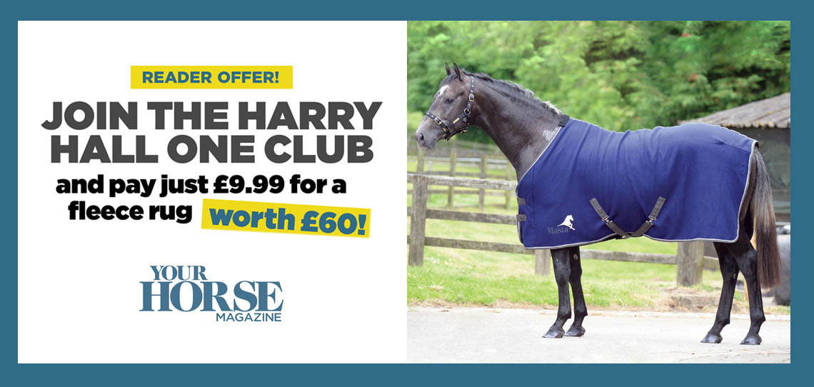Your Horse Reader Offer   Harry Hall One Club