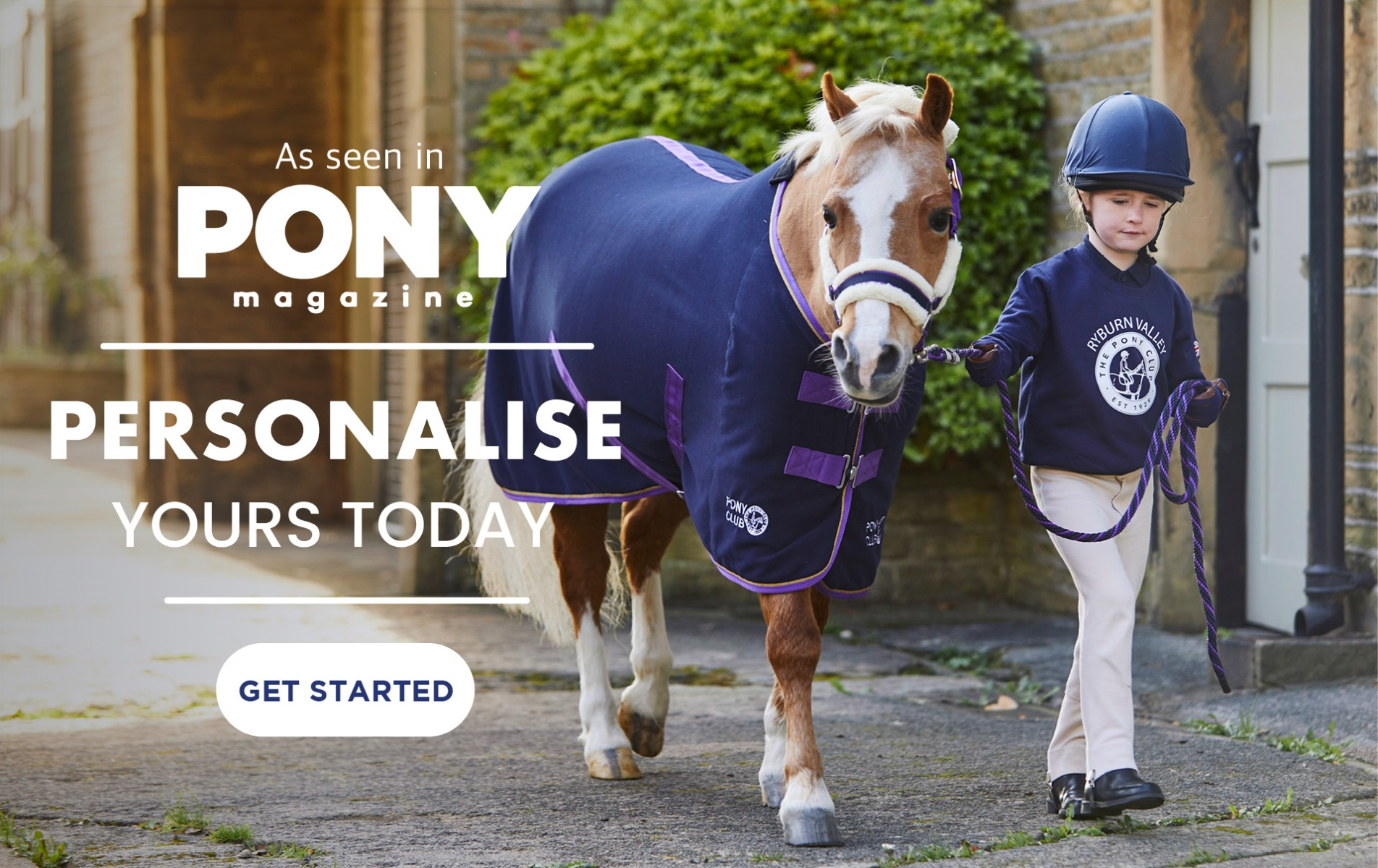 Pony Club - Personalise yours today | Harry Hall