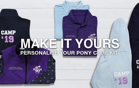 Pony Club - Personalisation