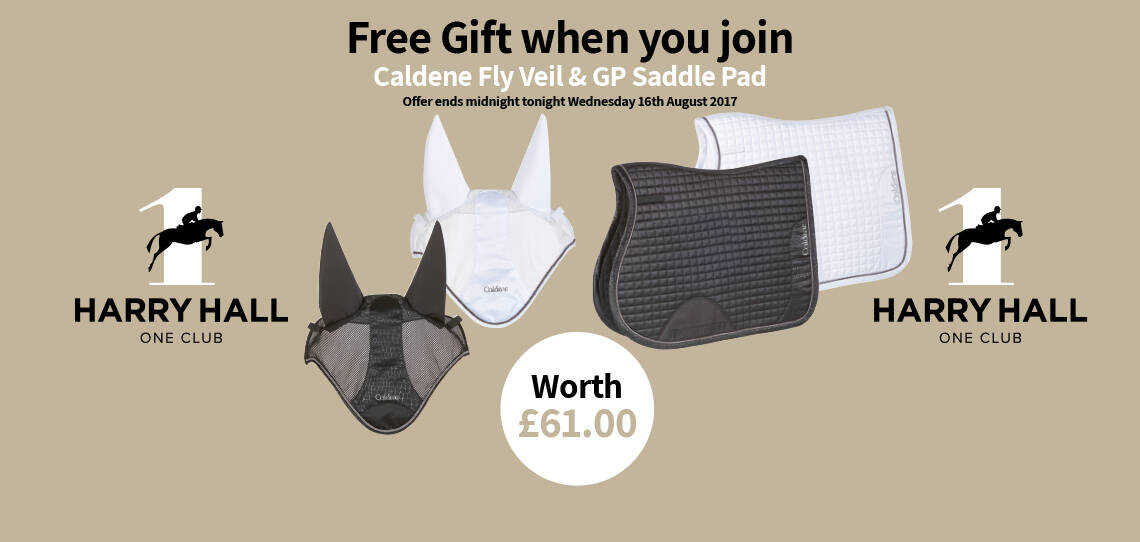 Harry Hall One Club - Free Gift when you Join